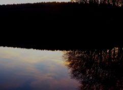 Balade crépusculaire: l'étang de L'Argentalet