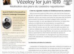 Vézelay en 1820