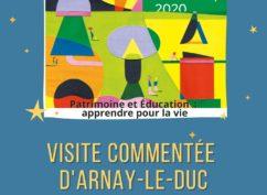 Visite commentée de la Ville d'Arnay-Le-Duc