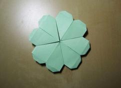 Des activités nature à faire chez soi : fleurs en origami