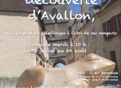 Visite découverte d'Avallon cité méconnue aux portes du Morvan sur la route des pèlerins