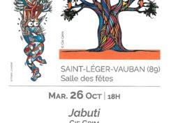 Spectacle «Jabuti»  – Festival des Contes Givrés en Bourgogne Franche-Comté